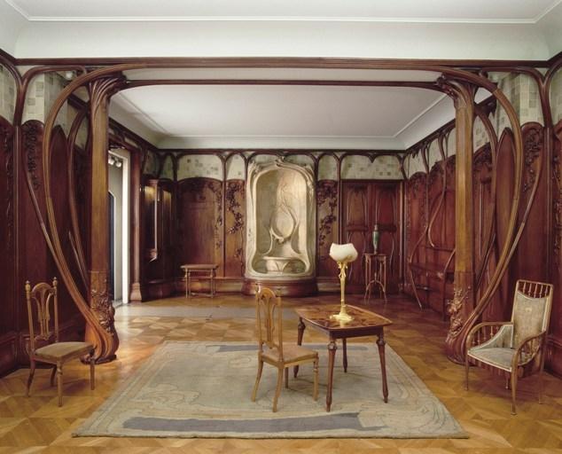 Art Nouveau Style Of Naturalistic Spoon